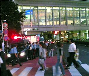 渋谷警察・W杯